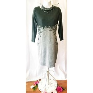 """CONNECTED APPAREL"" SWEATER DRESS"